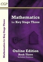 KS3 Maths Textbook 3: Student Online Edition (with answers)