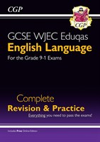 New Grade 9-1 GCSE English Language WJEC Eduqas Complete Revision & Practice (with Online Edition)