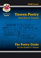Grade 9-1 GCSE English Literature Edexcel Unseen Poetry Guide