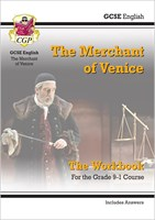 New Grade 9-1 GCSE English Shakespeare - The Merchant of Venice Workbook (includes Answers)