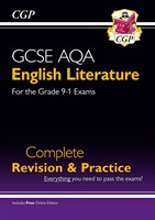 GCSE English Literature AQA Complete Revision & Practice - Grade 9-1 (with Online Edition)