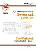 GCSE English Literature AQA Poetry Workbook: Power & Conflict Anthology (includes Answers)