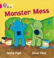 Collins Big Cat - Monster Mess: Band 01b/pink B
