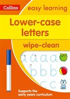 Lower case letters Ages 3-5