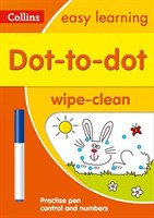 Dot-to-Dot Age 3-5 Wipe Clean Activity Book