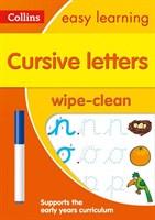 Cursive Letters Age 3-5 Wipe Clean Activity Book