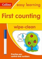 First Counting Age 3-5 Wipe Clean Activity Book