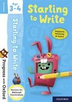 PWO: START TO WRITE AGE 3-4 BK/STICKER