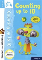 PWO: COUNTING AGE 3-4 BK/STICKER