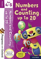 PWO: NUMBERS/COUNTING AGE 4-5 BK/STICKER