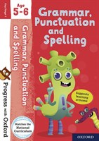 PWO: GRAMMAR AND PUNCTUATION AGE 5-6 BOOK/STICKERS/WEBSITE LINK