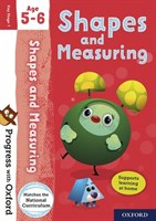 PWO: SHAPE AND MEASURING AGE 5-6 BOOK/STICKERS/WEBSITE LINK