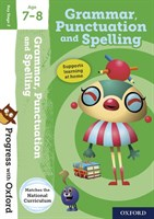 PWO: GRAMMAR AND PUNCTUATION AGE 7-8 BOOK/STICKERS/WEBSITE LINK