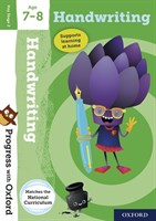 PWO: HANDWRITING AGE 7-8 BOOK/STICKERS/WEBSITE LINK