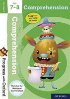 PWO: COMPREHENSION AGE 7-8 BOOK/STICKERS/WEBSITE LINK