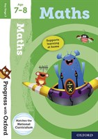 PWO: MATHS AGE 7-8 BOOK/STICKERS/WEBSITE LINK