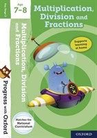 PWO: MULTIPLICATION&DIVISION AGE 7-8 BOOK/STICKERS/WEBSITE LINK
