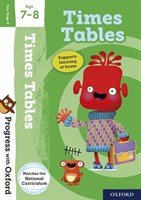 PWO: TIMES TABLES AGE 7-8 BOOK/STICKERS/WEBSITE LINK