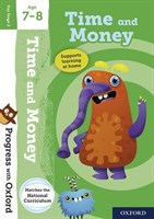 PWO: TIME AND MONEY AGE 7-8 BOOK/STICKERS/WEBSITE LINK