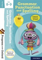 PWO: GRAMMER, PUNCTUATION AND SPELLING AGE 8-9 BOOK/STICKERS/WEBSITE LINK