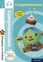 PWO: COMPREHENSION AGE 8-9 BOOK/STICKERS/WEBSITE LINK