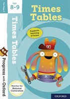 PWO: TIMES TABLES 8-9 BOOK/STICKERS/WEBSITE LINK
