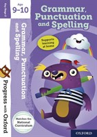 PWO: GRAMMAR, PUNCTUATION AND SPELLING 9-10 BOOK/STICKERS/WEBSITE LINK