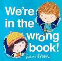 WE'RE IN THE WRONG BOOK! HB