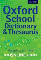 OXF SCHOOL DICTIONARY & THES HB 2012