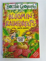 Bloomin' Rainforests (Horrible Geography) Paperback