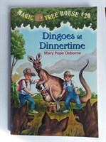 Magic Tree House 20 Dingoes At Dinnertime