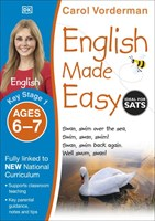 Ages 6-7 Key Stage 1 English Made Easy Workbooks