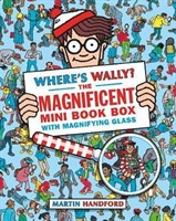 Wheres Wally? The Magnificent Mini Book Box • 5 books & magnifying glass