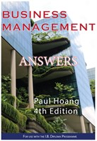 Business Management Answer Book for 4th Edition (Digital)