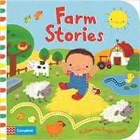 Finger Trails: Farm Stories  (board bk)