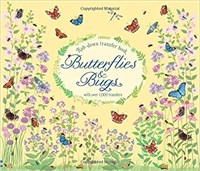 Butterflies and Bugs Rub Down Transfer Book