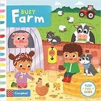 Busy Farm  (Board book)