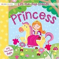 Lift-the- flap Friends Princess